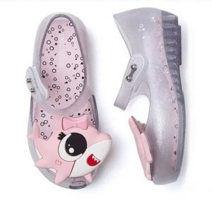 sapatilha-infantil-mini-melissa-shark-transparente